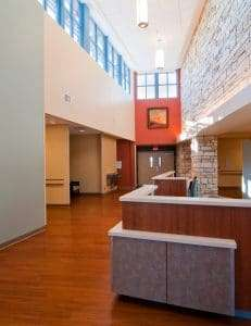 Culberson Hospital Registration Area